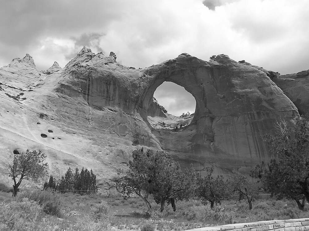 Window Rock....New Mexico, I think. by revdrrenee