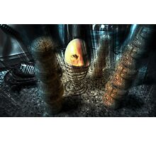 Eggsecution X - The Never Ending Nightmare Photographic Print