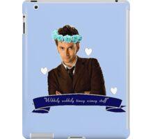 Wibbily Wobbily Timey Wimey iPad Case/Skin