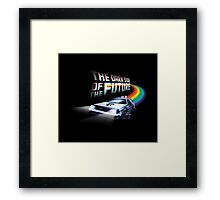 The Dark Side of the Future Framed Print