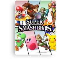 Smash Bros Canvas Print
