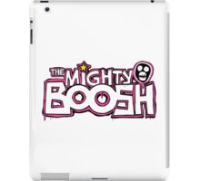 The Mighty Boosh – Dripping Pink Writing & Mask iPad Case/Skin