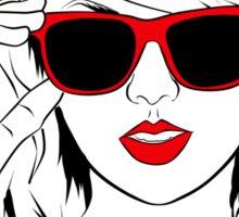 Sunglass Swift- RED Sticker