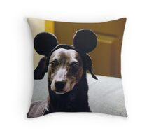 Scooby Mouse.... Throw Pillow