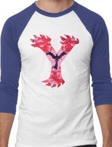 Yveltal Pokemon Y Men's Baseball ¾ T-Shirt
