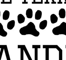 Bull Terrier Grandma Sticker