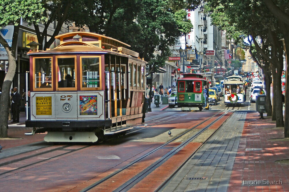 Cable Cars by Laurie Search