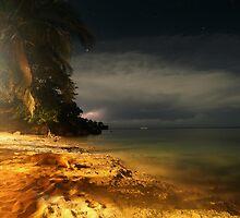 night on mars... by Murray Breingan