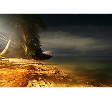night on mars... Photographic Print