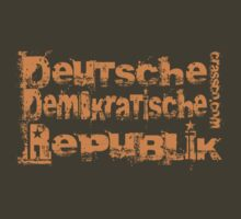 Deutsche Demokratische Republik - German Democratic Republic by fuxart