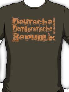 Deutsche Demokratische Republik - German Democratic Republic T-Shirt
