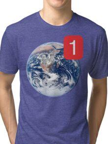 Earth Note. Tri-blend T-Shirt