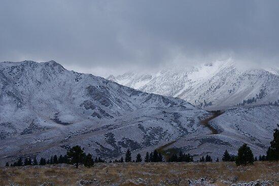 Mountain Scene by Adrienne Evans