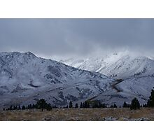 Mountain Scene Photographic Print