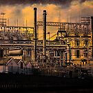 Industrial Sunset by Chris Lord