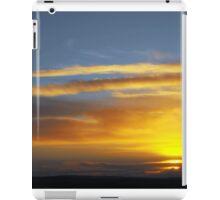 scottish sunset  iPad Case/Skin
