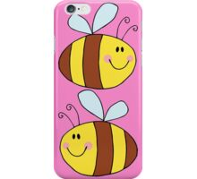 Cute Bumble Bee Drawing  iPhone Case/Skin