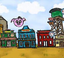 Piggie's Wild West by mbozugrace