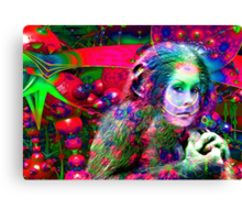 Alien Jungle  Canvas Print