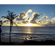 Molokai Sunset Photographic Print