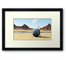 A Changing Moment Framed Print