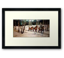 """Coming Down From Black Mountain"" Framed Print"