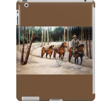"""""""Coming Down From Black Mountain"""" iPad Case/Skin"""