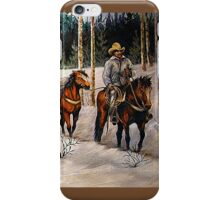 """Coming Down From Black Mountain"" iPhone Case/Skin"