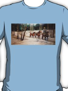 """""""Coming Down From Black Mountain"""" T-Shirt"""