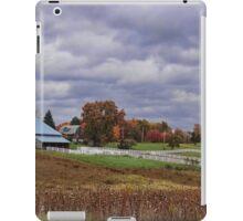 Beautiful fall farmland iPad Case/Skin
