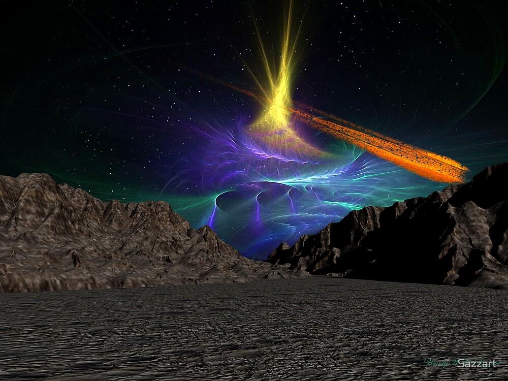 Asteroid Valley  02 by Sazzart