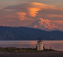 Twin Clouds by Bryan Peterson