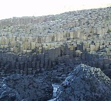 Giant's Causeway in Northern Ireland. by valizi