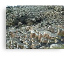 My weekend trip to Giant's Causeway in Northern Ireland. Canvas Print