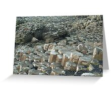My weekend trip to Giant's Causeway in Northern Ireland. Greeting Card