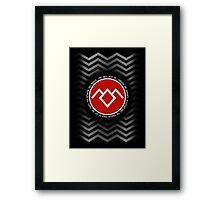 Twin Peaks - Fire Walk with me Framed Print