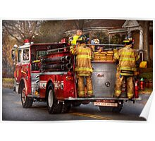 Fireman - Metuchen Fire Department  Poster