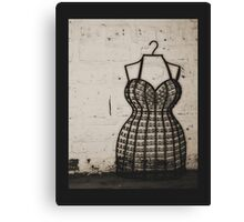 Dress me up in your Love Canvas Print