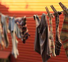 socks drying, boca, buenos aires, argentina by nickaldridge
