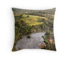 View from Brushy Cutting Throw Pillow