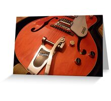 The Gretsch Greeting Card