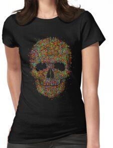 Acid Skull Womens Fitted T-Shirt
