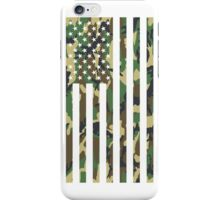 USA Flag - CAMO iPhone Case/Skin
