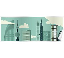 Big City View Poster