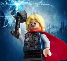 Lego Thor  by CBDigitalGoods