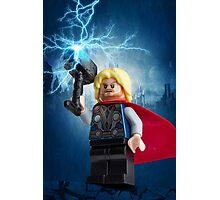 Lego Thor  Photographic Print