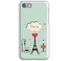 Paris!  iPhone Case/Skin