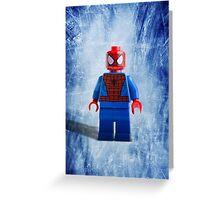 Lego Spiderman - Custom Artwork & Photography Greeting Card