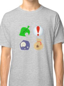 Animal Crossing Icons Classic T-Shirt