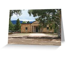 Hartley Court House Greeting Card